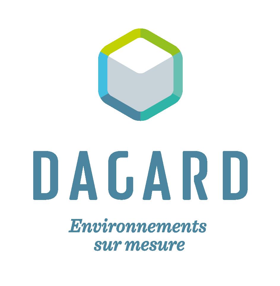 Logo Dagard, environnements sur mesure