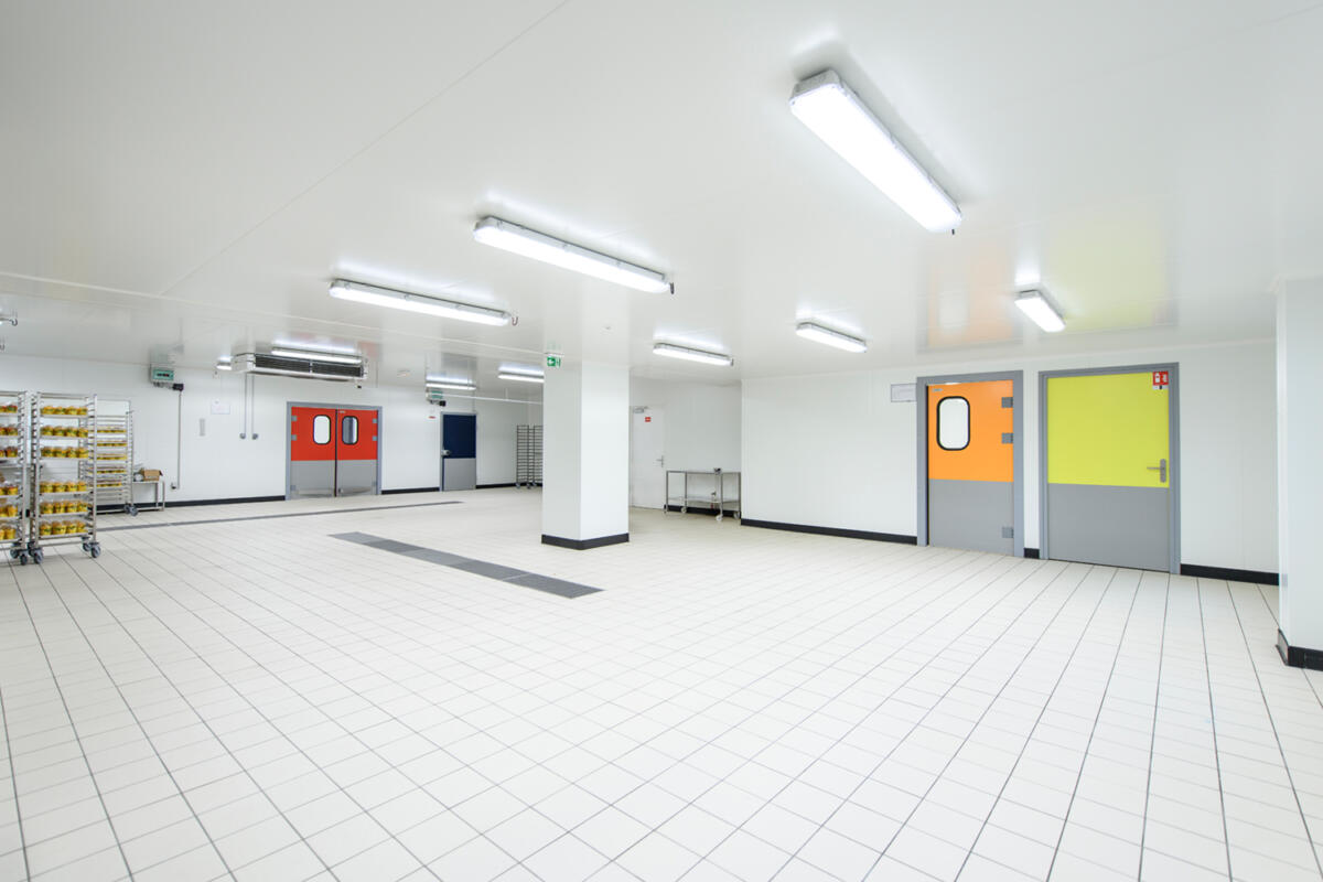 Leading manufacturer of cold rooms for the food industry