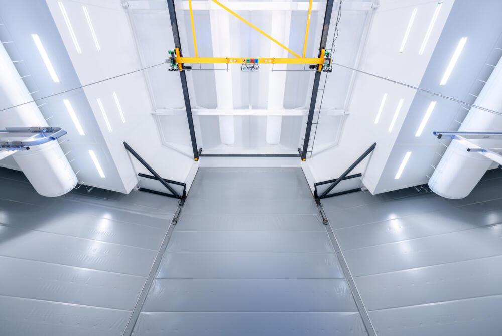 Smart Industries - Salle de peinture grande hauteur