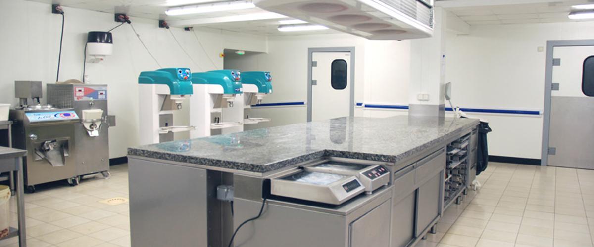 Laboratoire de boulangerie – réalisation Dagard