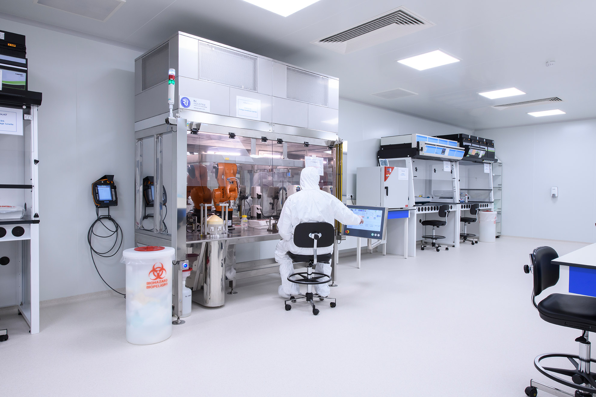 Cleanroom for Biotechnology