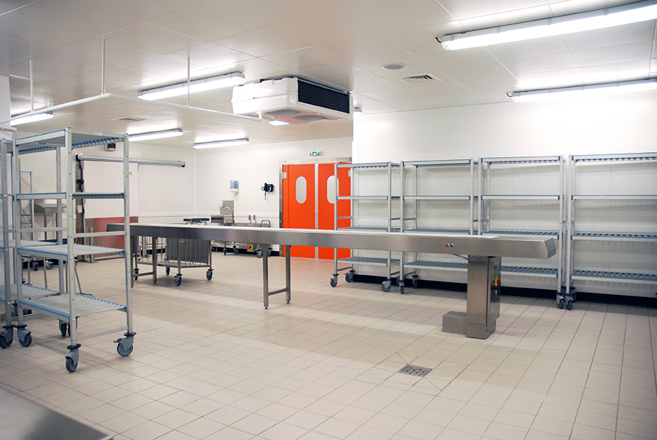 Focus refrigerated panel enclosures