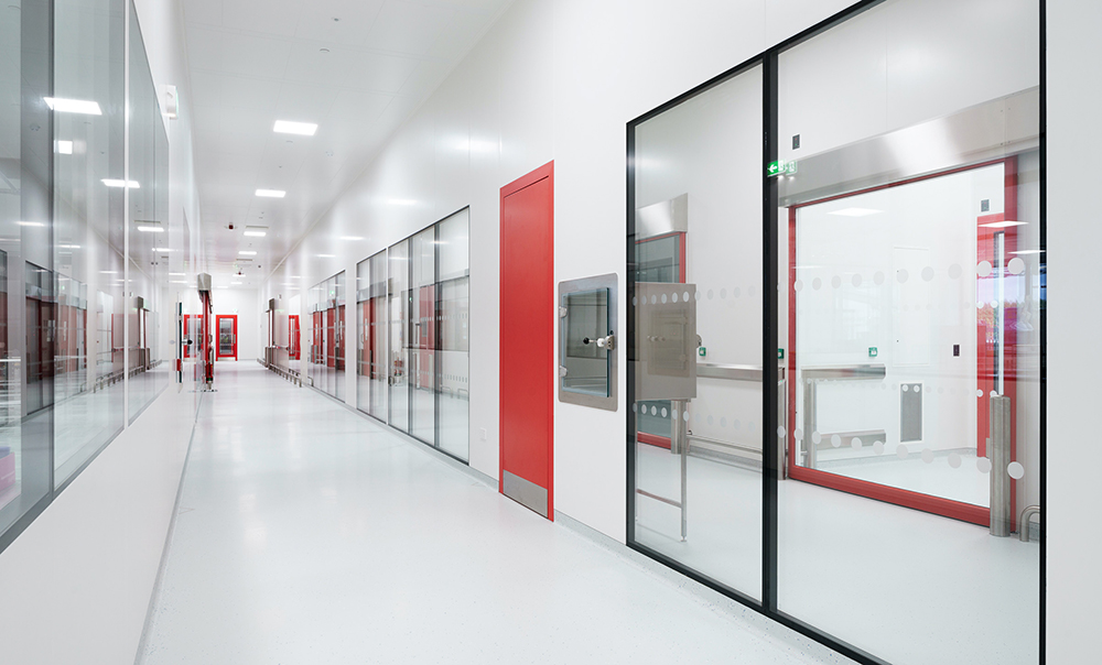 Ultra Clean range in sandwich panels