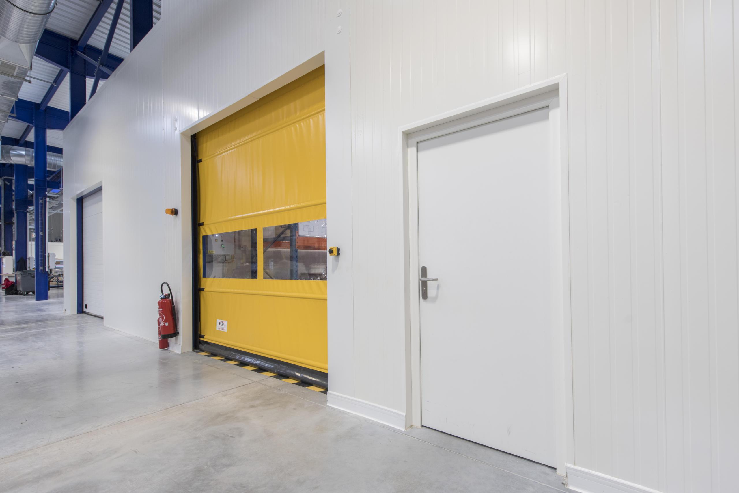 The Dagard industrial door