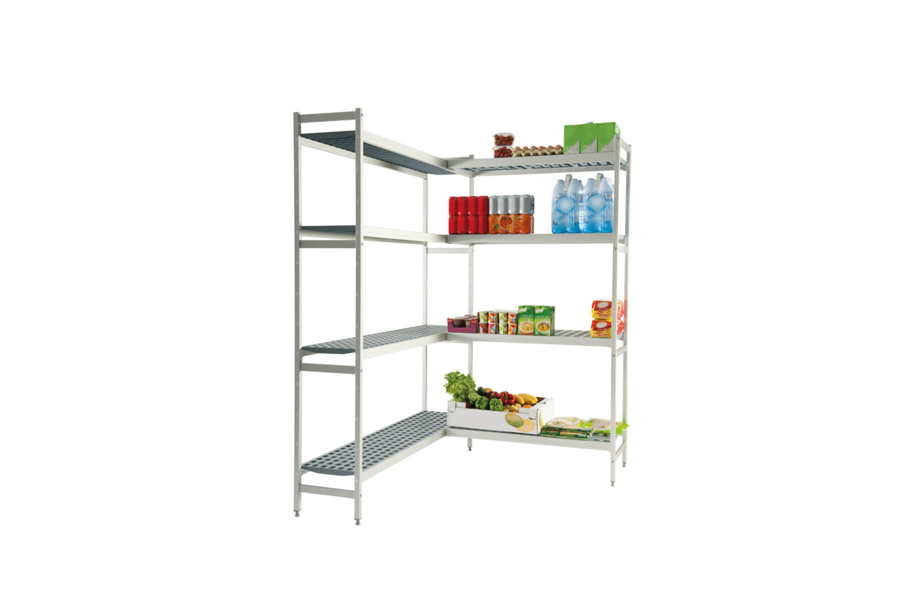 Dagard cold room: shelving and gantries