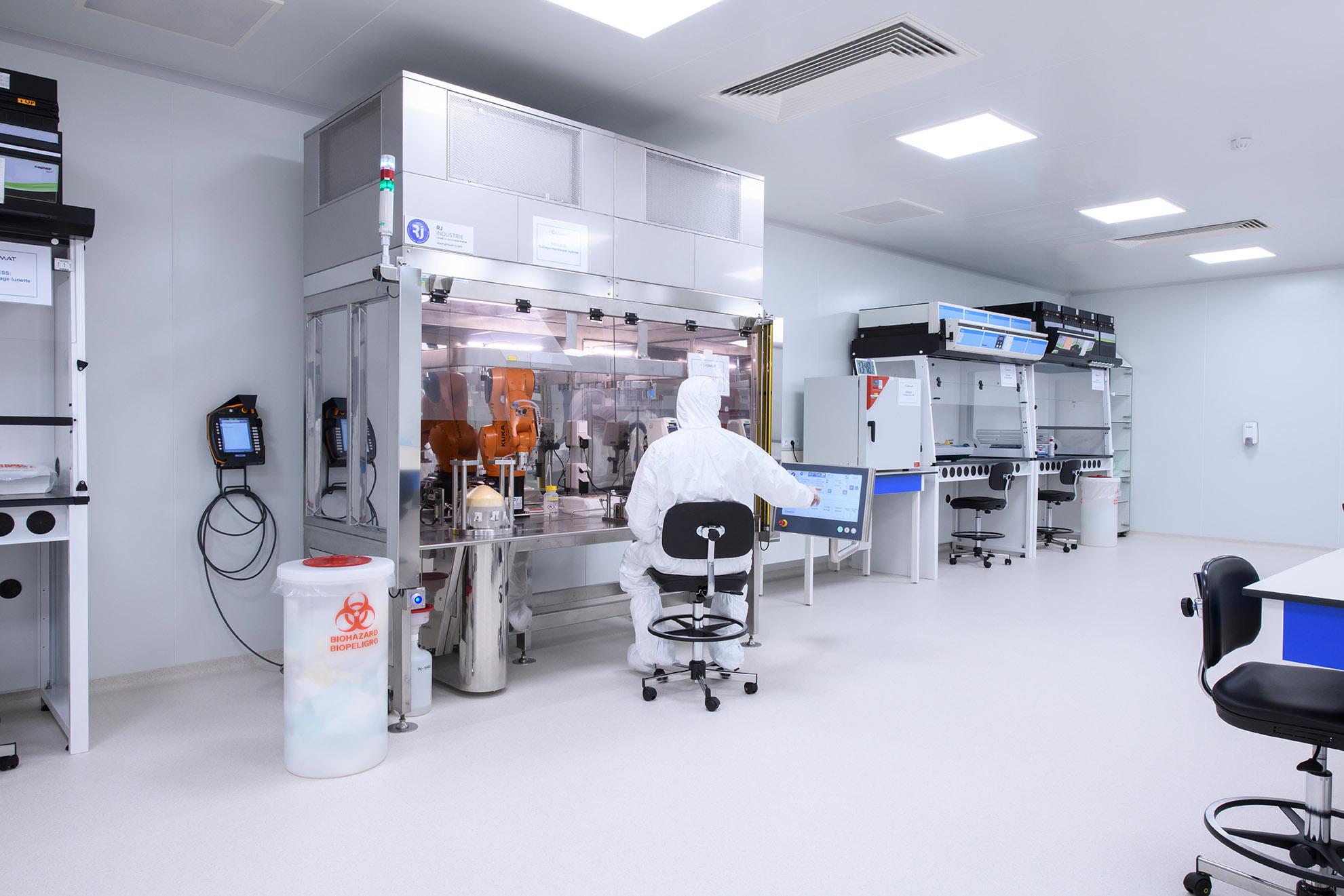 Sala limpia en biotecnología Dagard