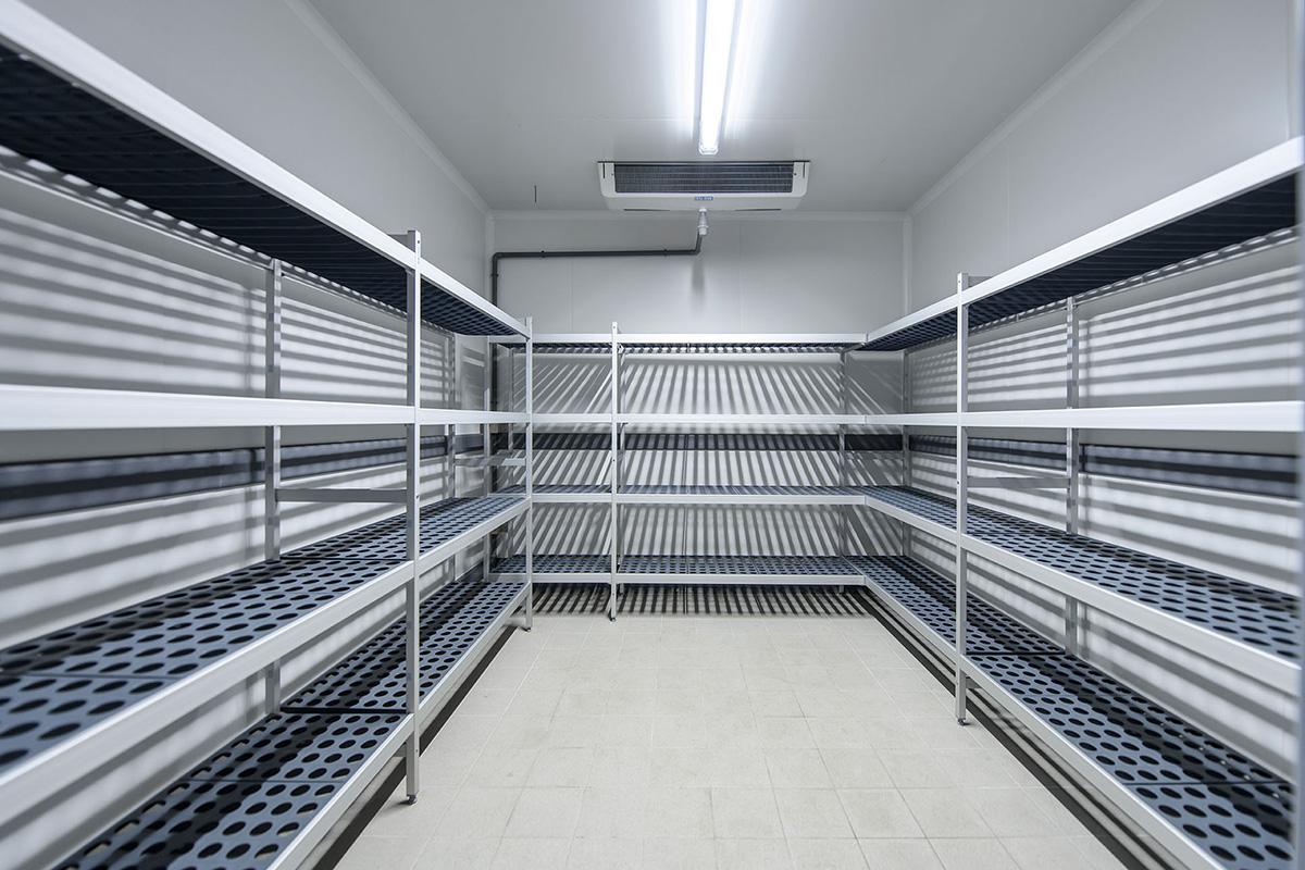 interior de cámara frigorífica Dagard