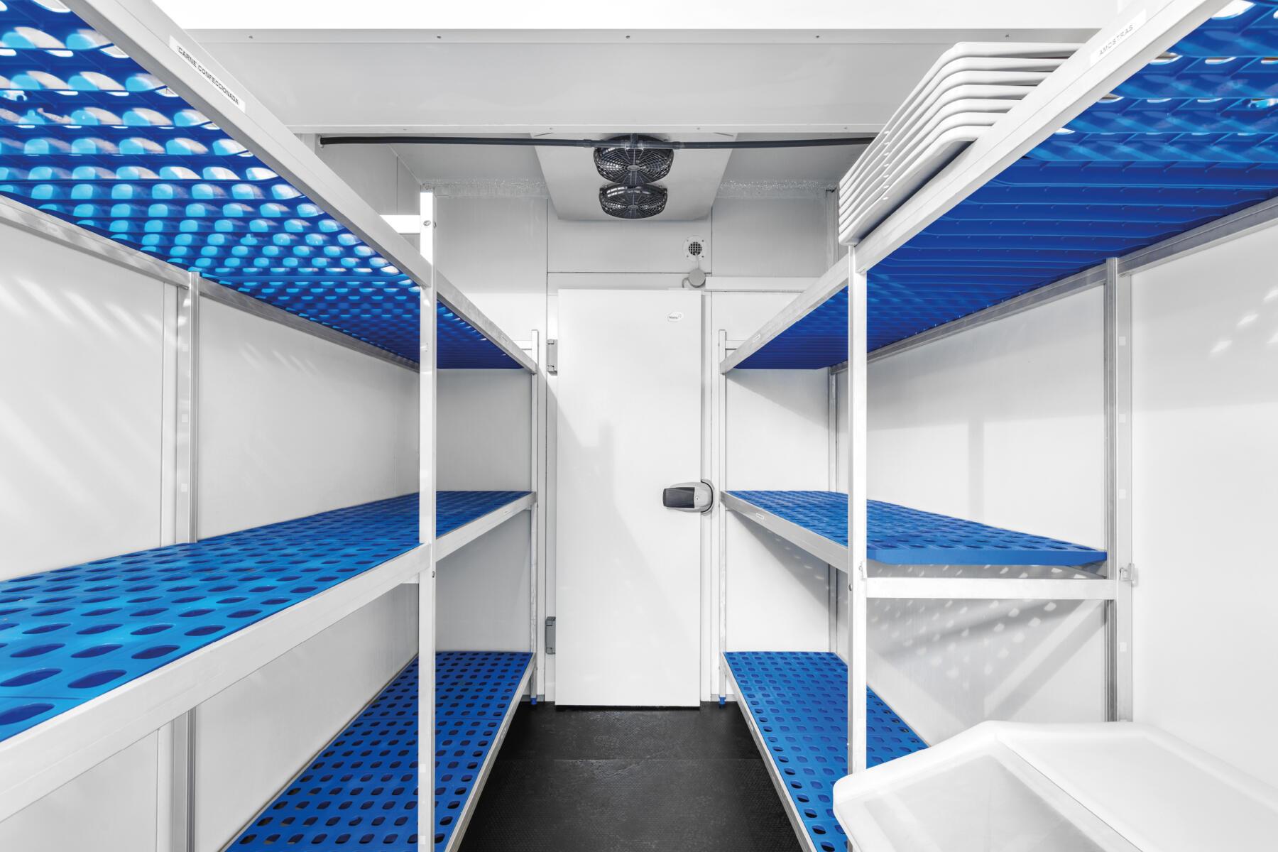 Pórticos para cámaras frigoríficas Dagard