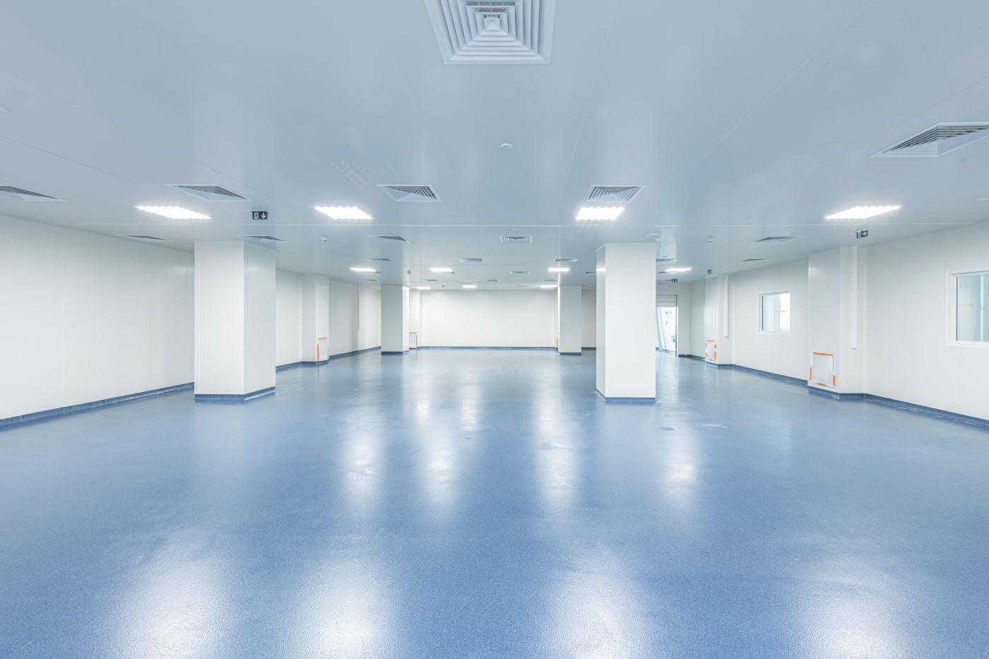 salle blanche pour le LFB Arras