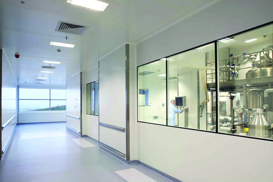 Sound proofing in cleanrooms